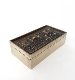 Arnaldo Pomodoro Gio and Arnoldo Pomodoro Cast Sculptural Bronze Box Signed II Sestante - 1173664