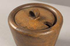 Arne Bang Lidded Stoneware Bowl by Arne Bang Denmark 1950s - 682147