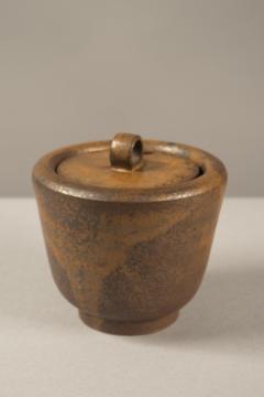 Arne Bang Lidded Stoneware Bowl by Arne Bang Denmark 1950s - 682148