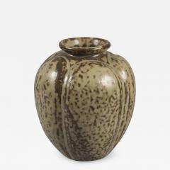 Arne Bang Stoneware Vase by Arne Bang Denmark 1950s - 677908