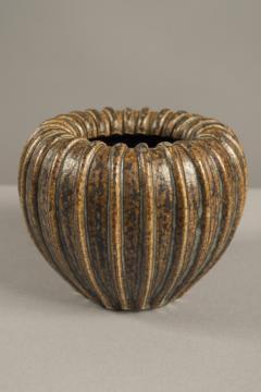 Arne Bang Stoneware Vase by Arne Bang Denmark 1950s - 679971