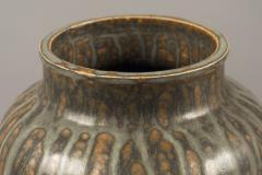 Arne Bang Stoneware Vase by Arne Bang Denmark 1950s - 681860