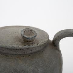 Arne Bang Tea pot in grey blue glaze - 868448