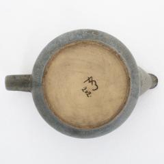 Arne Bang Tea pot in grey blue glaze - 868449