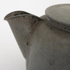 Arne Bang Tea pot in grey blue glaze - 868451