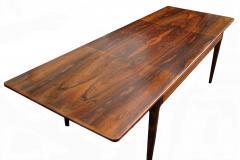 Arne Hovmand Olsen Arne Hovmand Olsen Mogens Kold Rosewood Danish Extension Table Dining Table - 1789351