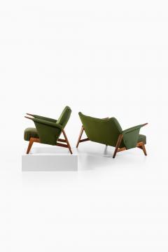 Arne Hovmand Olsen Easy Chair Model 480 Produced by Alf Juul Rasmussens Polsterm belfabrik - 1860556