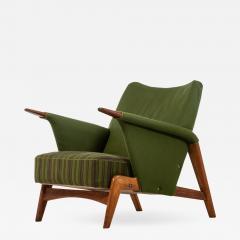 Arne Hovmand Olsen Easy Chair Model 480 Produced by Alf Juul Rasmussens Polsterm belfabrik - 1864343