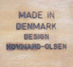 Arne Hovmand Olsen Extremely Rare Scandinavian ArmchairDesigned by Hovman Olsen - 980095