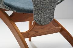 Arne Hovmand Olsen No 55 Lounge Chair by Arne Hovmand Olsen for P Jeppesen M belfabrik DK 1955 - 1611576