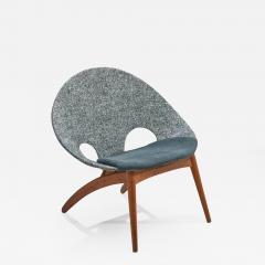 Arne Hovmand Olsen No 55 Lounge Chair by Arne Hovmand Olsen for P Jeppesen M belfabrik DK 1955 - 1612517