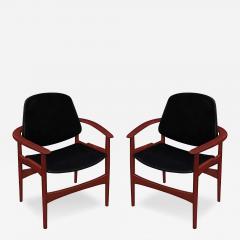 Arne Hovmand Olsen Pair of Arm Chairs in Teak by Arne Hovmand Olsen - 156922