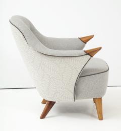 Arne Hovmand Olsen Pair of Danish Tub Back Lounge Chairs by Arne Hovmand Olsen circa 1960s - 1123895