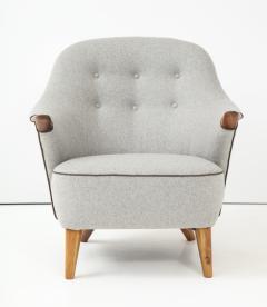 Arne Hovmand Olsen Pair of Danish Tub Back Lounge Chairs by Arne Hovmand Olsen circa 1960s - 1123899