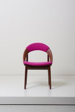 Arne Hovmand Olsen Pair of Rare Dining Chairs in Teak by Arne Hovmand Olsen - 1011533