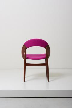 Arne Hovmand Olsen Pair of Rare Dining Chairs in Teak by Arne Hovmand Olsen - 1011537
