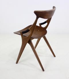 Arne Hovmand Olsen Scandinavian Modern Scissor Chair Designed by Arne Hovmand Olsen - 1039150
