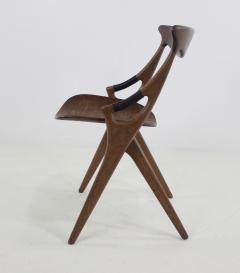Arne Hovmand Olsen Scandinavian Modern Scissor Chair Designed by Arne Hovmand Olsen - 1039151