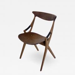 Arne Hovmand Olsen Scandinavian Modern Scissor Chair Designed by Arne Hovmand Olsen - 1039788