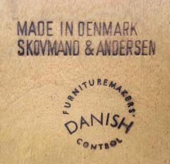 Arne Hovmand Olsen Scandinavian Modern Tambour Door Teak Credenza Designed by Arne Hovmand Olsen - 1148557