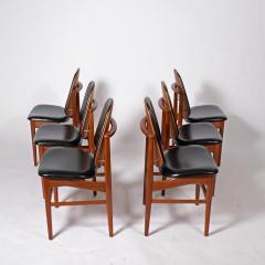 Arne Hovmand Olsen Teak six dining chairs Arne Hovman Olsen - 1268537