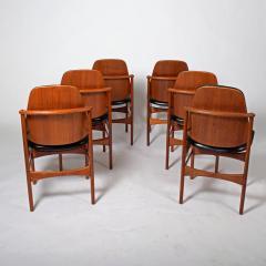 Arne Hovmand Olsen Teak six dining chairs Arne Hovman Olsen - 1268538
