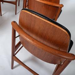 Arne Hovmand Olsen Teak six dining chairs Arne Hovman Olsen - 1268540