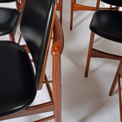 Arne Hovmand Olsen Teak six dining chairs Arne Hovman Olsen - 1268544
