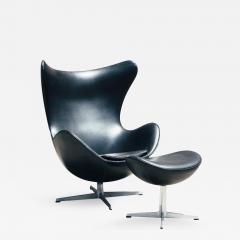 Arne Jacobsen 1960s Arne Jacobsen Egg Chair And Ottoman   330871