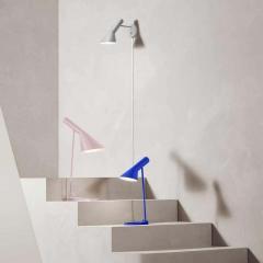 Arne Jacobsen Arne Jacobsen AJ Mini Table Lamp in Original Grey for Louis Poulsen - 1458697