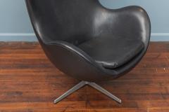 Arne Jacobsen Arne Jacobsen Leather Egg Chair for Fritz Hansen - 1714275