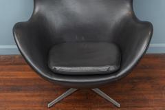 Arne Jacobsen Arne Jacobsen Leather Egg Chair for Fritz Hansen - 1714280