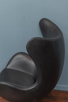 Arne Jacobsen Arne Jacobsen Leather Egg Chair for Fritz Hansen - 1714283