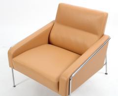 Arne Jacobsen Arne Jacobsen Series 3300 Natural Leather Armchair Fritz Hansen - 822656