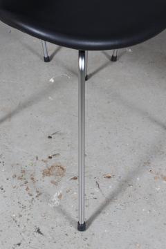 Arne Jacobsen Arne Jacobsen set of six 3108 Liljen Chairs aniline leather - 2050125