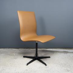 Arne Jacobsen Early Arne Jacobsen Oxford Chair in Cognac Leather Fritz Hansen c1970 - 2141768