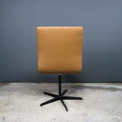 Arne Jacobsen Early Arne Jacobsen Oxford Chair in Cognac Leather Fritz Hansen c1970 - 2141770