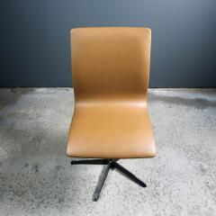 Arne Jacobsen Early Arne Jacobsen Oxford Chair in Cognac Leather Fritz Hansen c1970 - 2141773