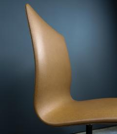 Arne Jacobsen Early Arne Jacobsen Oxford Chair in Cognac Leather Fritz Hansen c1970 - 2141778