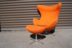 Arne Jacobsen Egg Chair and Ottoman by Arne Jacobsen for Fritz Hansen - 1913766