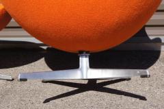 Arne Jacobsen Egg Chair and Ottoman by Arne Jacobsen for Fritz Hansen - 1913767