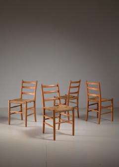 Arne Jacobsen Four Arne Jacobsen Novo Chairs Denmark 1930s - 1060467