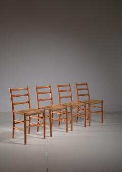 Arne Jacobsen Four Arne Jacobsen Novo Chairs Denmark 1930s - 1060468