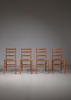 Arne Jacobsen Four Arne Jacobsen Novo Chairs Denmark 1930s - 1060469