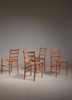 Arne Jacobsen Four Arne Jacobsen Novo Chairs Denmark 1930s - 1060471