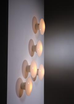 Arne Jacobsen Set of 5 Arne Jacobsen Eklipta wall lamps - 1633340