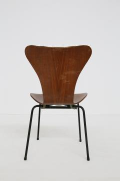 Arne Jacobsen Set of six chair by Arne Jacobsen M Butterfly for the Brazilian airline 1950s - 1535125
