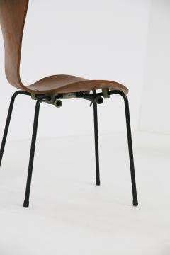 Arne Jacobsen Set of six chair by Arne Jacobsen M Butterfly for the Brazilian airline 1950s - 1535128