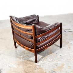 Arne Norell Arne Norell Rosewood and Leather Chair - 1651033