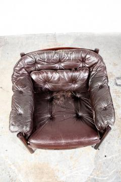 Arne Norell Arne Norell Rosewood and Leather Chair - 1651034